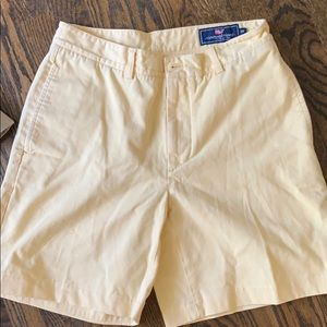 Men's Yellow Vineyard Vines size 30